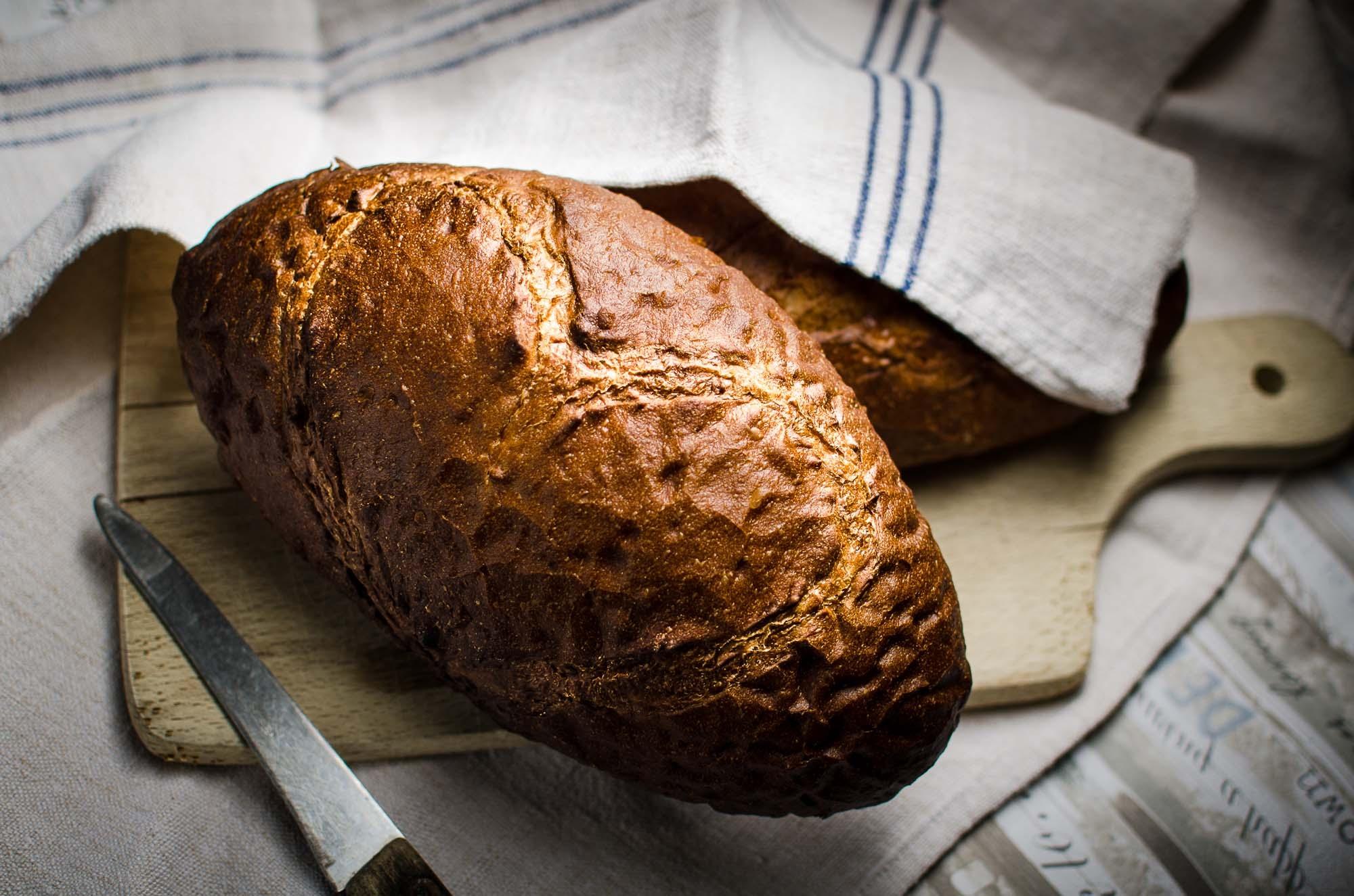 Veganes Brot ohne Mehl