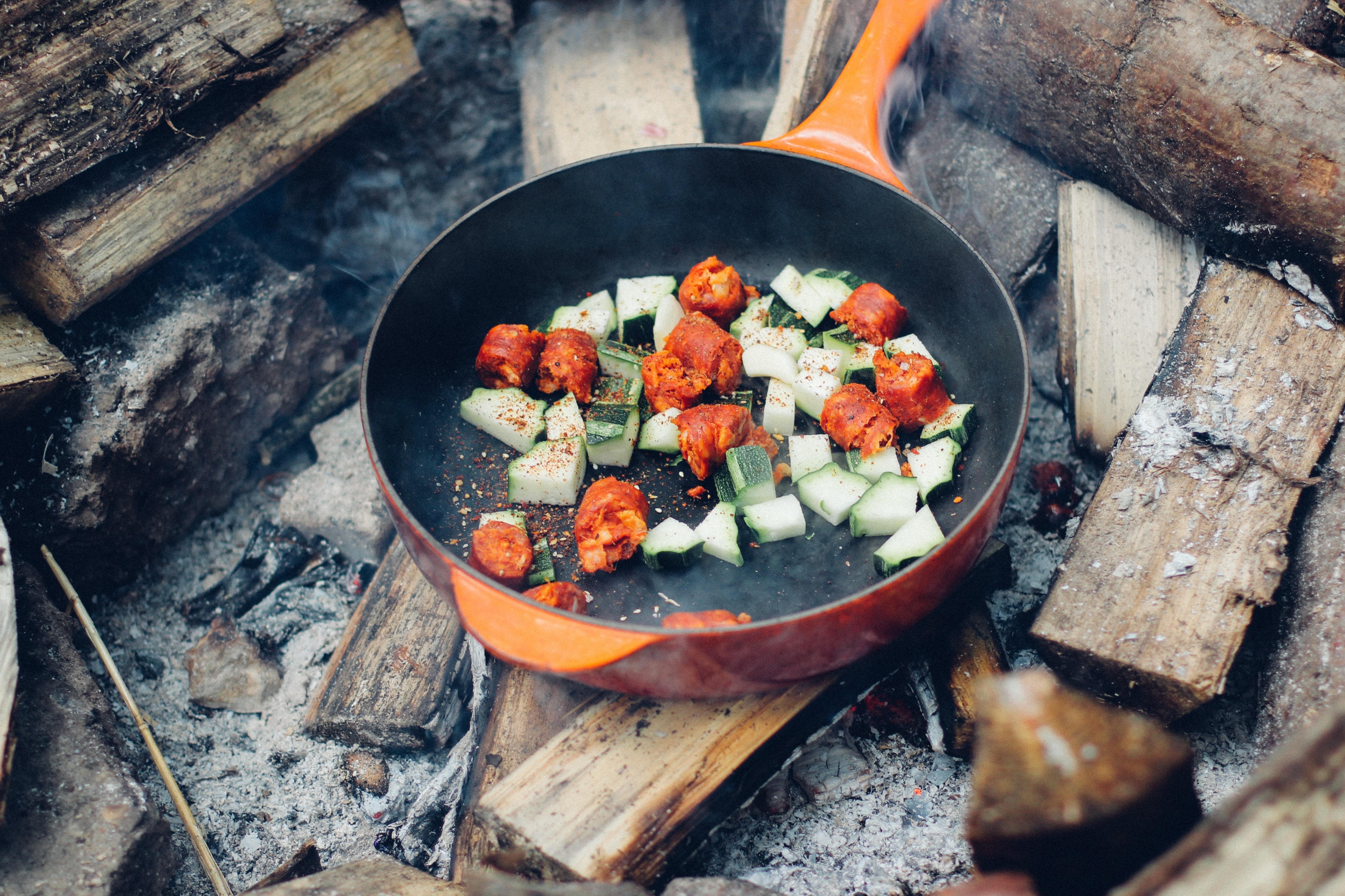 Die besten Camping Rezepte