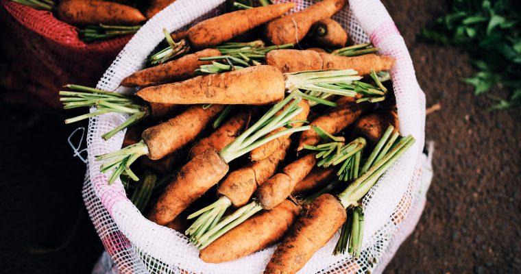 Gesunde Karotten