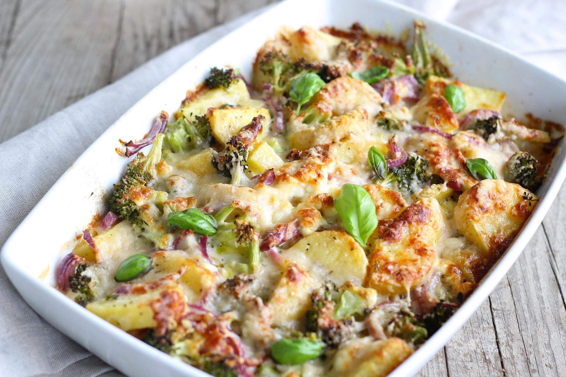 Leckerer Kartoffel – Brokkoli Auflauf