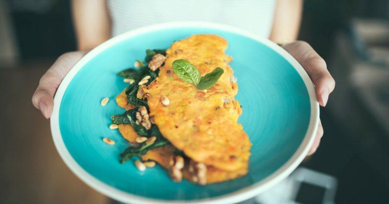 Das perfekte Omelette mit Walnüssen