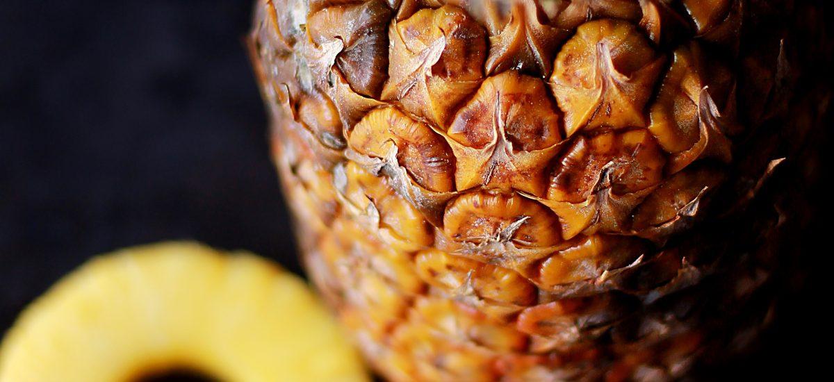 Ananas Smoothie mit Ingwer