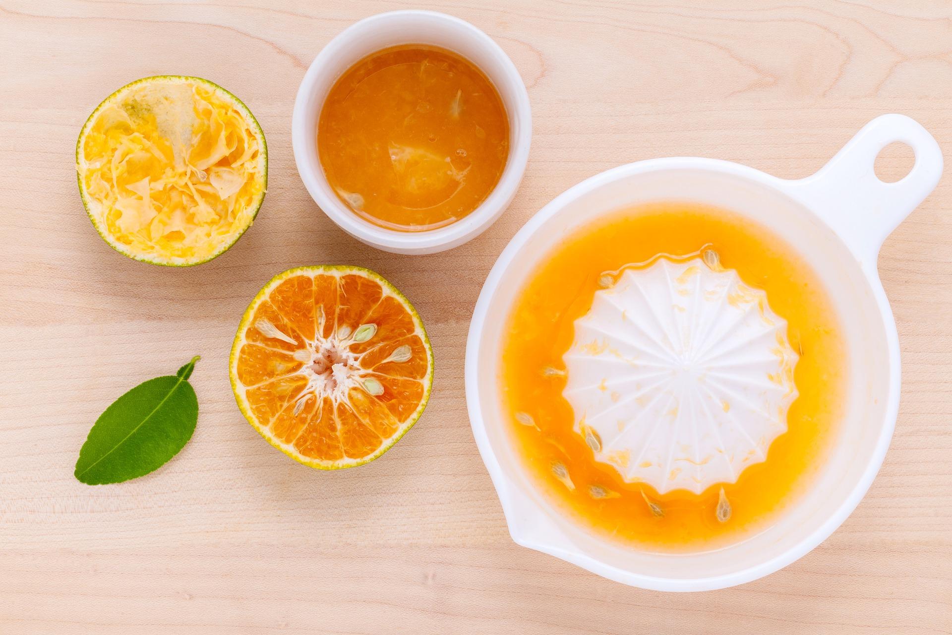Erfrischende Maracuja-Orangen-Limonade