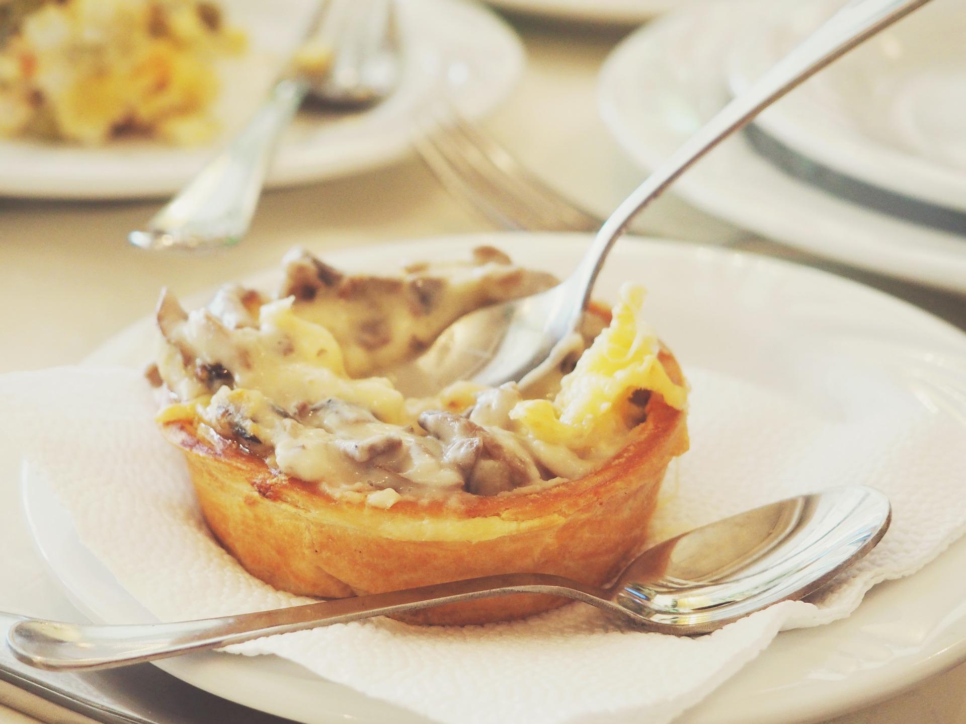Mini Lasagne aus der Muffinform