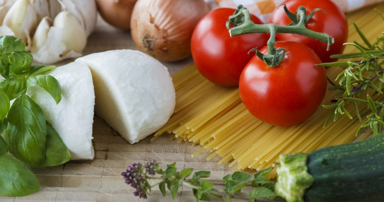 Eingelegter Mozzarella