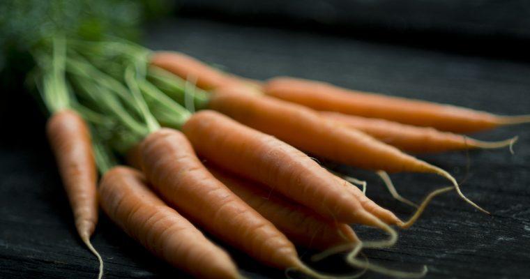 Veganer Räucherlachs aus Karotten