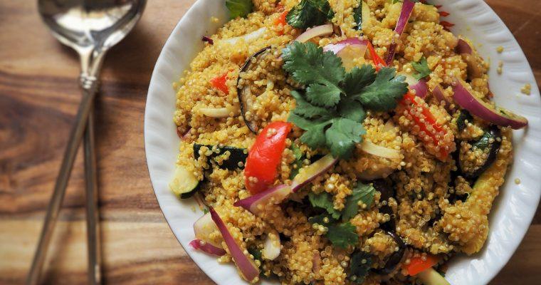Quinoa Granatapfel Salat