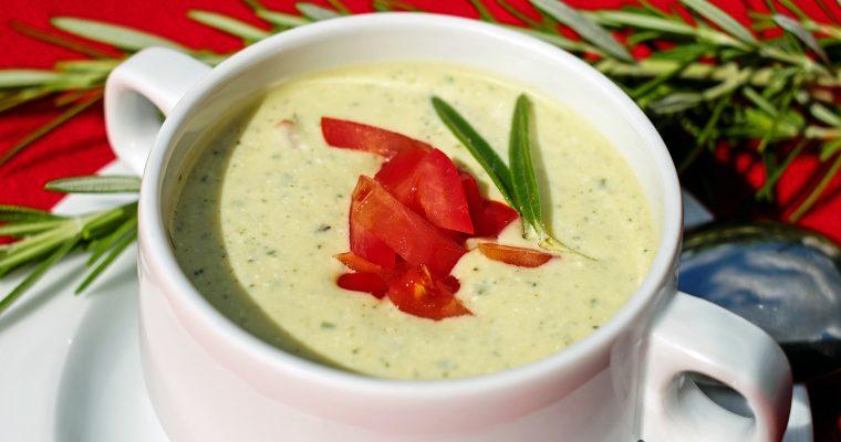 Käse-Lauch Suppe vegetarisch