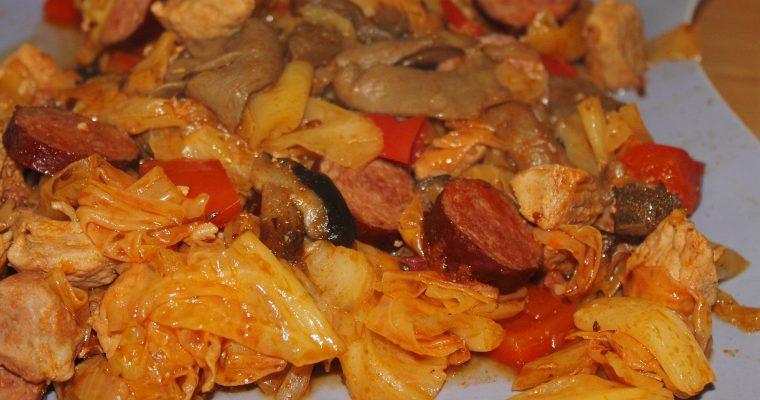 Bigos – Sauerkrauteintopf