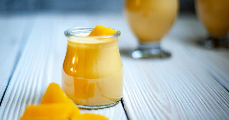 Grüner-Tee-Mango-Smoothie
