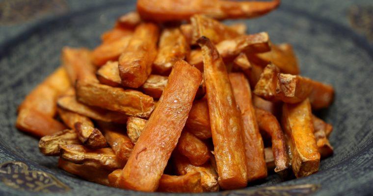 Karotten und Pastinaken-Pommes