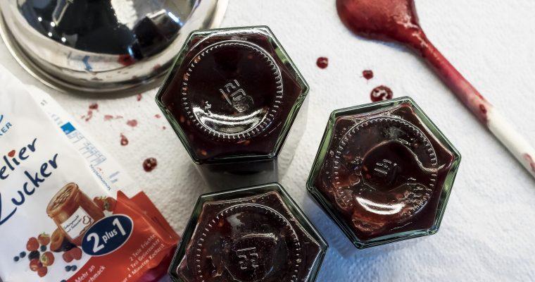 Birnen-Blaukraut-Marmelade mit Prosecco